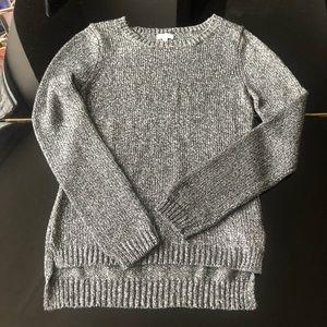 Splendid metallic fashion sweater